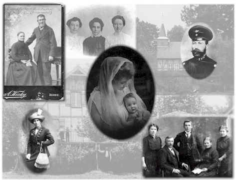 Krey Family History Collage